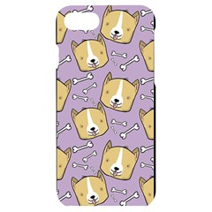 Corgi Pattern Iphone 7/8 Black Uv Print Case