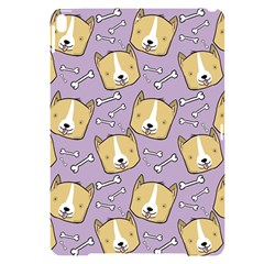 Corgi Pattern Apple Ipad Pro 10 5   Black Uv Print Case