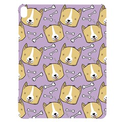 Corgi Pattern Apple Ipad Pro 12 9   Black Uv Print Case