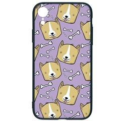 Corgi Pattern Iphone Xr Soft Bumper Uv Case