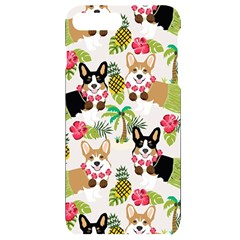 Corgis Hula Pattern Iphone 7/8 Plus Black Uv Print Case