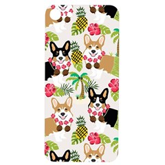 Corgis Hula Pattern Iphone 7/8 Soft Bumper Uv Case