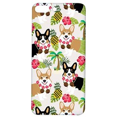 Corgis Hula Pattern Iphone 7/8 Plus Soft Bumper Uv Case