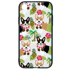 Corgis Hula Pattern Iphone Xr Soft Bumper Uv Case