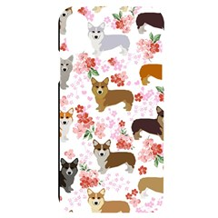 Corgis Corgi Pattern Iphone X/xs Black Uv Print Case