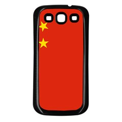 Flag Of People s Republic Of China Samsung Galaxy S3 Back Case (black) by abbeyz71