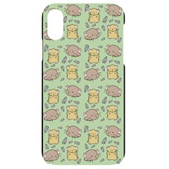 Hamster Pattern Iphone Xr Black Uv Print Case
