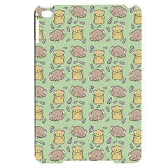 Hamster Pattern Apple Ipad Mini 4 Black Uv Print Case