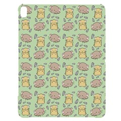 Hamster Pattern Apple Ipad Pro 12 9   Black Uv Print Case