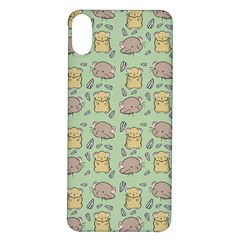 Hamster Pattern Iphone X/xs Soft Bumper Uv Case