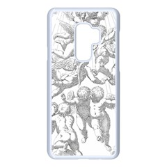 Angel Line Art Religion Angelic Samsung Galaxy S9 Plus Seamless Case(white)
