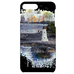 Lighthouse Art Sea Ocean Vintage Iphone 7/8 Plus Black Uv Print Case