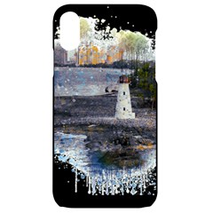 Lighthouse Art Sea Ocean Vintage Iphone Xr Black Uv Print Case