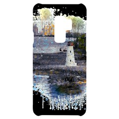 Lighthouse Art Sea Ocean Vintage Samsung S9 Plus Black Uv Print Case