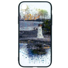 Lighthouse Art Sea Ocean Vintage Iphone Xr Soft Bumper Uv Case