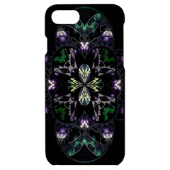 Fractal Fractal Art Texture Iphone 7/8 Black Uv Print Case