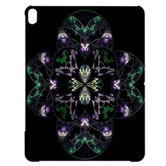Fractal Fractal Art Texture Apple Ipad Pro 12 9   Black Uv Print Case