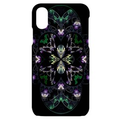 Fractal Fractal Art Texture Iphone X/xs Black Uv Print Case