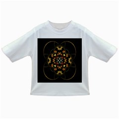 Fractal Stained Glass Ornate Infant/toddler T Shirts