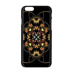 Fractal Stained Glass Ornate Iphone 6/6s Black Enamel Case