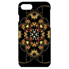 Fractal Stained Glass Ornate Iphone 7/8 Black Uv Print Case