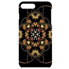 Fractal Stained Glass Ornate Iphone 7/8 Plus Black Uv Print Case