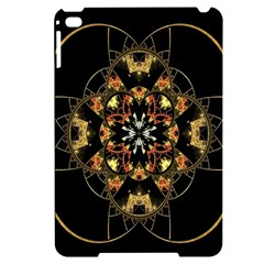 Fractal Stained Glass Ornate Apple Ipad Mini 4 Black Uv Print Case