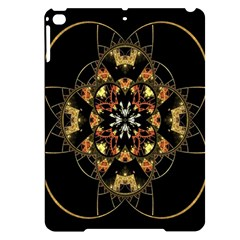 Fractal Stained Glass Ornate Apple Ipad Pro 9 7   Black Uv Print Case