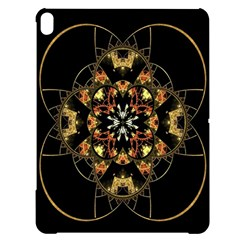 Fractal Stained Glass Ornate Apple Ipad Pro 12 9   Black Uv Print Case