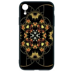 Fractal Stained Glass Ornate Iphone Xr Soft Bumper Uv Case