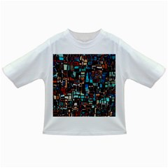 Stained Glass Mosaic Abstract Infant/toddler T Shirts