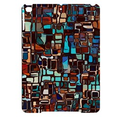 Stained Glass Mosaic Abstract Apple Ipad Pro 9 7   Black Uv Print Case