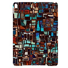 Stained Glass Mosaic Abstract Apple Ipad Pro 10 5   Black Uv Print Case