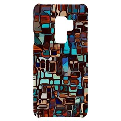 Stained Glass Mosaic Abstract Samsung S9 Plus Black Uv Print Case
