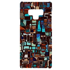 Stained Glass Mosaic Abstract Samsung Note 9 Black Uv Print Case
