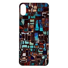 Stained Glass Mosaic Abstract Iphone X/xs Soft Bumper Uv Case