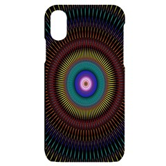 Artskop Kaleidoscope Pattern Iphone X/xs Black Uv Print Case