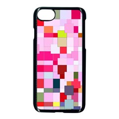 The Framework Paintings Square Iphone 8 Seamless Case (black) by Sapixe