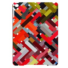 Maze Mazes Fabric Fabrics Color Apple Ipad Pro 9 7   Black Uv Print Case