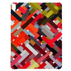 Maze Mazes Fabric Fabrics Color Apple Ipad Pro 12 9   Black Uv Print Case