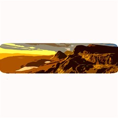 Scotland Monti Mountains Mountain Large Bar Mats by Sapixe