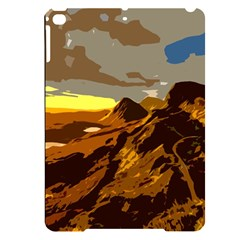 Scotland Monti Mountains Mountain Apple Ipad Pro 9 7   Black Uv Print Case