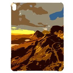 Scotland Monti Mountains Mountain Apple Ipad Pro 12 9   Black Uv Print Case