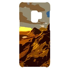 Scotland Monti Mountains Mountain Samsung S9 Black Uv Print Case