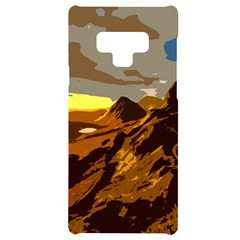 Scotland Monti Mountains Mountain Samsung Note 9 Black Uv Print Case
