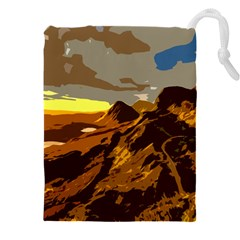 Scotland Monti Mountains Mountain Drawstring Pouch (xxxl)