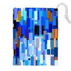 Color Colors Abstract Colorful Drawstring Pouch (xxxl)