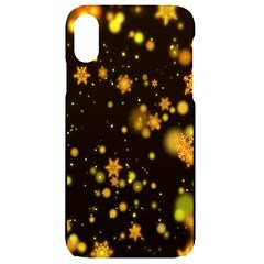 Background Black Blur Colorful Iphone Xr Black Uv Print Case