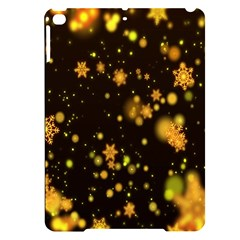 Background Black Blur Colorful Apple Ipad Pro 9 7   Black Uv Print Case