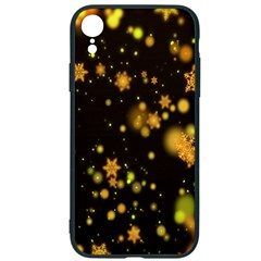 Background Black Blur Colorful Iphone Xr Soft Bumper Uv Case